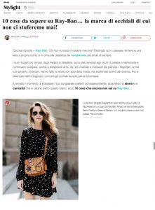 10 cose da sapere su Ray Ban_Stylight Italy - 2017 08 - Alexandra Lapp - found on https://www.stylight.it/Magazine/Fashion/10-Cose-Da-Sapere-Su-Ray-Ban/