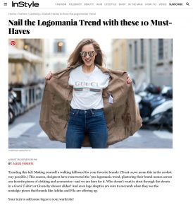 10 Must Haves to Rock the Logomania Trend - InStyle com - 2017 08 - Alexandra Lapp - found on http://www.instyle.com/fashion/clothing/shop-logomania-trend