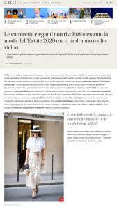 10 camicette di tendenza moda estate 2020 super fresche - elle.com/it - 2020 06 06 - Alexandra Lapp - found on https://www.elle.com/it/shopping/g32595921/camicette-moda-estate-2020/