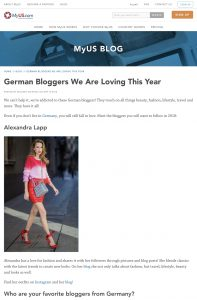 19 Best German Bloggers We Are Loving Right Now - myus-com - 2018 04 10 - Alexandra Lapp - found on https://www.myus.com/blog/top-german-bloggers/