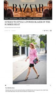 19 Ways To Style A Power Blazer In The Summer Heat - Harpers Bazaar Singapore - harpersbazaar.com.sg - 2019 06 27- Alexandra Lapp - found on https://www.harpersbazaar.com.sg/fashion/19-ways-to-style-a-power-blazer-in-the-summer-heat/?slide=0