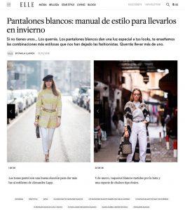 35 looks en pantalones blancos - ELLE Spain - 2018 12 12 - Alexandra Lapp - found on https://www.elle.com/es/moda/streetstyle/news/g686277/como-llevar-pantalones-blancos/?slide=23