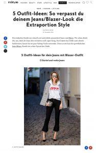 5 Outfit Ideen für Jeans mit Blazer - InStyle - instyle.de - 2018 11 22 - Alexandra Lapp - found on https://www.instyle.de/fashion/jeans-blazer-outfit-ideen