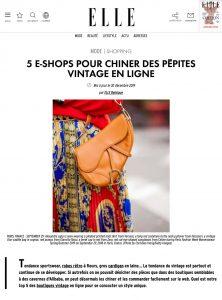 5 e-shops pour chiner des pepites vintage en ligne - ELLE Belgium - elle.be/fr - 2019 12 30 - Alexandra Lapp - found on https://www.elle.be/fr/290576-vintage-shop-online.html