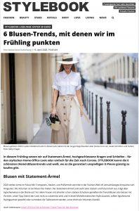 6 Blusen-Trends für den Frühling unter 50 Euro - STYLEBOOK - stylebook.de - 2020 04 15 - Alexandra Lapp - found on https://www.stylebook.de/fashion/blusen-hemden-trends