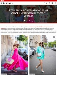 6 tendencias clave para no pasar calor y vestir con estilazo - Foto 1 - fashion-hola.com- 2020 07 20 - Alexandra Lapp - found on https://fashion.hola.com/tendencias/galeria/2020072869983/looks-verano-no-pasar-calor/1/