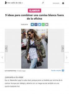 9 ideas para combinar una camisa blanca fuera de la oficina - MSN com Spain - 2019 02 03 - Alexandra Lapp - found on https://www.msn.com/es-mx/estilo-de-vida/estilo/9-ideas-para-combinar-una-camisa-blanca-fuera-de-la-oficina/ss-BBT4fmD#image=6
