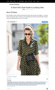 A Short Girl's Style Guide to Looking Taller - mydailymagazine com - 2018 08 18 - Alexandra Lapp - found on https://mydailymagazine.com/a-short-girls-style-guide-to-looking-taller/