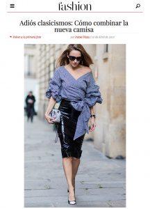 Adios clasicismos - Como combinar la nueva camisa - Fashion Hola - 2017 04 - Alexandra Lapp - 2 - found on http://fashion.hola.com/tendencias/galeria/2017041063174/camisa-rayas-oxford-blanca/12/