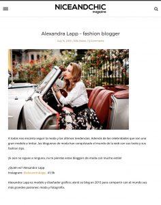 Alexandra Lapp fashion blogger - Niceandchic Magazine - 2017 10 - found on http://www.niceandchic.com/lovely-pepa/