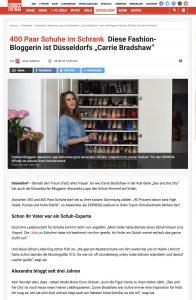 "Alexandra Lapp ist Düsseldorfs ""Carrie Bradshaw"" denn die Bloggerin hat fast 400 Paar Schuhe im Schrank - Express de - 2018 05 22 - Alexandra Lapp - found on https://www.express.de/duesseldorf/400-paar-schuhe-im-schrank-diese-fashion-bloggerin-ist-duesseldorfs--carrie-bradshaw--30438970#"