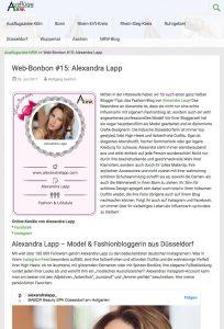 Alexandra Lapp - Web-Bonbon #15 - NRW-Blog - 2017 07 - found on https://www.ausflugsziele-nrw.net/web-bonbon-alexandra-lapp/
