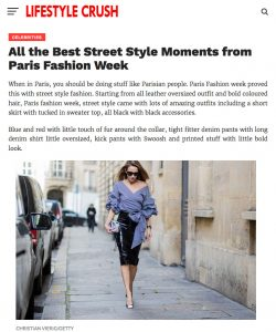 Lifestyle Crush - All the Best Street Style Moments from Paris Fashion Week - 2017-03 - Alexandra Lapp - found on http://www.lifestylecrush.com/all-the-best-street-style-moments-from-paris-fashion-week/