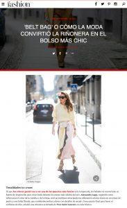 BELT-BAG O COMO LA MODA CONVIRTIO LA RINONERA EN EL BOLSO MAS CHIC - fashion hola com . 2019 03 22 - Alexandra Lapp - found on https://fashion.hola.com/tendencias/galeria/2019032267006/bolsos-rinoneras-zara-primavera-street-style/3/