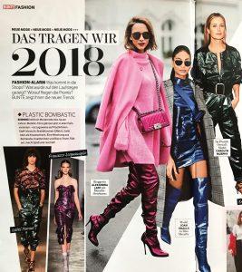 BUNTE - 2018 01 11 - Nr 3 Page 51 - Das tragen wir 2018 - Alexandra Lapp