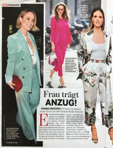 BUNTE Magazin - 2018 04 26 Nr 18 Page 50 - Frau trägt Anzug - Alexandra Lapp
