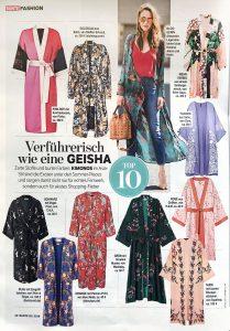 BUNTE - 2018 07 05 - Nr. 28 Page 50 - Verführerisch wie eine Geisha - Alexandra Lapp