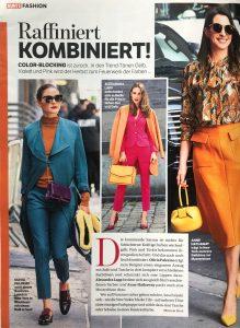BUNTE Germany - 2018 08 23 Nr. 35 - Raffiniert- kombiniert - Alexandra Lapp
