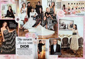 BUNTE - 2018 12 19 - Nr. 52 Page 62-63 - Die neuen Muster von Dior - Alexandra Lapp