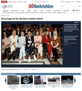 Backstage bei der Berliner-Fashion-Week - ÖO Nachrichten Austria - 2019 03 12 - Alexandra Lapp - found on https://www.nachrichten.at/nachrichten/fotogalerien/cme209938,2149590