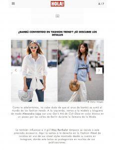 Bambu convertido en fashion trend - Si Descubre los detalles - us-hola-com - 2018 09 04 - Alexandra Lapp - found on https://us.hola.com/moda/galeria/2018090414385/ana-brenda-contreras-fashion-trends-bambu-vv/4/?viewas=amp