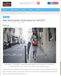 Best Minimalistic Style Ideas for Fall 2017 - americanfashiontv - 2017 10 - Alexandra Lapp - found on https://americanfashiontv.com/2017/10/02/stylish-ideas-fall-2017/