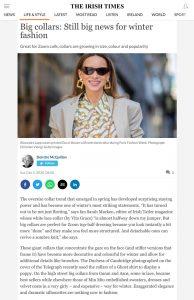 Big collars: Still big news for winter fashion - irishtimes.com - 2020 12 05 - Alexandra Lapp - found on https://www.irishtimes.com/life-and-style/fashion/big-collars-still-big-news-for-winter-fashion-1.4416987?mode=amp