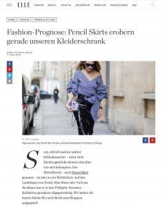 Bleisiftröcke - Der Pencil Skirt ist das Trend Teil für den Frühling 2018 - ELLE-de - 2018 03 17 - Alexandra Lapp - found on http://www.elle.de/trend-pencil-skirt-bleistiftrock