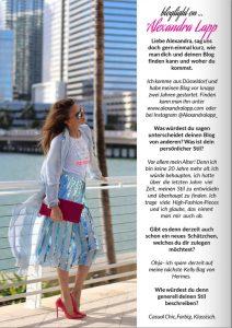 Bloglight Magazine Season Four - 2017 - Alexandra Lapp - 1 - found on https://www.magglance.com/Magazine/aa59ad23f0f05f24e753a83ffc295830/white