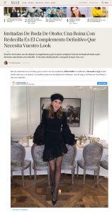Boinas con redecilla para invitadas como la de Beatrice Borromeo - ELLE Spain - elle.com/es - 2019 11 20 - Alexandra Lapp - found on https://www.elle.com/es/star-style/el-estilo-de/a29857174/boina-redecilla-complemento-invitadas-boda-otono-invierno-beatrice-borromeo/