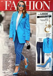 Bunte Germany - No. 20 - 2020 05 07 - Page 46 - Fashion: Der Look von Alexandra Lapp - Alexandra Lapp