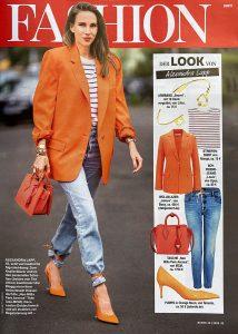 Bunte Germany - No. 32 page-49 - 2020 07 30 - Fashion: Der Look von Alexandra Lapp - Alexandra Lapp