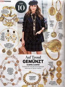 Bunte Germany - No. 44 - 2020 10 22 - Fashion: Auf Trend gemünzt - klimper klimper - Alexandra Lapp