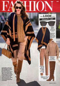 Bunte Germany - No. 46 page 46 - 2020 11 20 - Fashion: Der Look von Alexandra Lapp - Alexandra Lapp