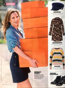 CLOSER magazine Germany - 2018 10 02 - Nr. 41 Page 52 - fashion - Alexandra Lapp