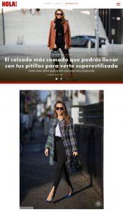 Calzado comodo para llevar con leggings y pantalones pitillo - Foto 1 - hola.com - 2021 03 11 - Alexandra Lapp - found on https://www.hola.com/moda/tendencias/galeria/20210311184799/leggings-pantalon-pitillo-como-combinar-zapatillas-zapato-comodo/1/