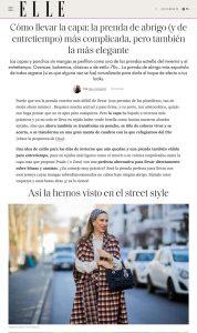 Capa cómo llevar la prenda de abrigo y entretiempo más de moda 1 - elle.com/es - 2021 02 21 - Alexandra Lapp - found on https://www.elle.com/es/moda/tendencias/a35508456/capa-abrigo-mujer-tendencia-como-llevar/