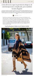 Capa cómo llevar la prenda de abrigo y entretiempo más de moda 2 - elle.com/es - 2021 02 21 - Alexandra Lapp - found on https://www.elle.com/es/moda/tendencias/a35508456/capa-abrigo-mujer-tendencia-como-llevar/