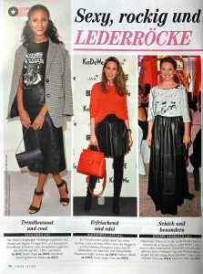 Closer Germany - 2019 01 30 - Nr. 06 Page 46 - Sexy rockig und Lederröcke - Alexandra Lapp