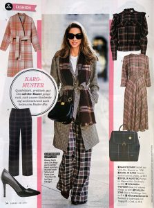 Closer Germany - No. 40 - 2019 09 19 - Page 54 - Fashion - Karo Muster - Alexandra Lapp