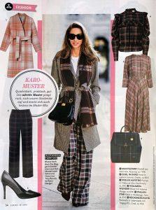 Closer Germany - No. 40 - 2019 09 19 - Page 54 - Fashion - Karo Muster - Alexandra Lapp