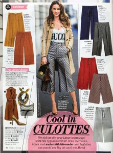 Closer Magazine - 2019 04 03 No. 15 Page 90 - cool in culottes - Alexandra Lapp