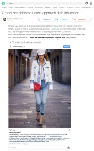 Come abbinare i jeans 7 modi approvati dalle influencer - Stylight it - 2018 03 - Alexandra Lapp - found on https://www.stylight.it/Magazine/Fashion/Come-Abbinare-I-Jeans-Secondo-Le-Influencer/