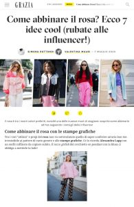 Come abbinare il rosa? Ecco 7 idee cool (rubate alle influencer!) - Grazia Italia - grazia.it - 2020 05 07 - Alexandra Lapp - found on https://www.grazia.it/moda/tendenze-moda/come-indossare-rosa-abbinamenti-outfit-idee-influencer