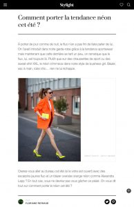 Comment porter la tendance néon cet été - Stylight - stylight.fr - 2020 06 27 - Alexandra Lapp - found on https://www.stylight.fr/Magazine/Fashion/Tendance-Fluo-Neon-Ete/