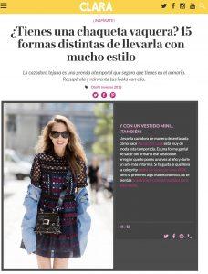 Como llevar la chaqueta vaquera - Clara spain - 2017 10 - Alexandra Lapp - found on http://www.clara.es/moda/looks/chaqueta-vaquera-formas-llevar-con-estilo_11225/10