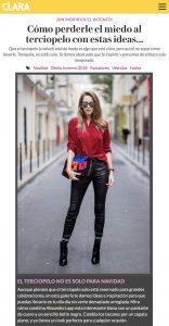 Como llevar y comprar prendas de terciopelo este otono invierno 2018 - clara es - 2017-12 - Alexandra Lapp - found on http://www.clara.es/moda/tendencias/como-llevar-terciopelo-otono-invierno-2017-2018_11391/1