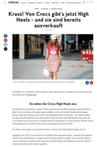 Crocs hat jetzt High Heels die total begehrt sind - InStyle de - 2018 07 13 - Alexandra Lapp - found on https://www.instyle.de/fashion/crocs-high-heels