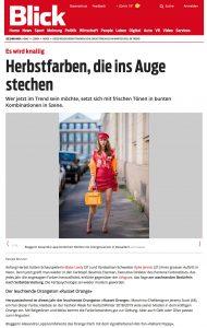 Das sind die Herbst Trendfarben 2018 für die kühle Jahreszeit - Blick Swiss - 2018 10 - Alexandra Lapp - found on https://www.blick.ch/life/mode/es-wird-knallig-diese-herbstfarben-stechen-ins-auge-id8923074.html