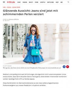Denim Trend 2017 - Aufgestickte Perlen auf Hosen und Co - instyle - 2017 05 - Alexandra Lapp - found on http://www.instyle.de/fashion/denim-mit-perlen-trend-2017